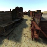 Western Quake III custom ported Wild West map: ww_elpaso